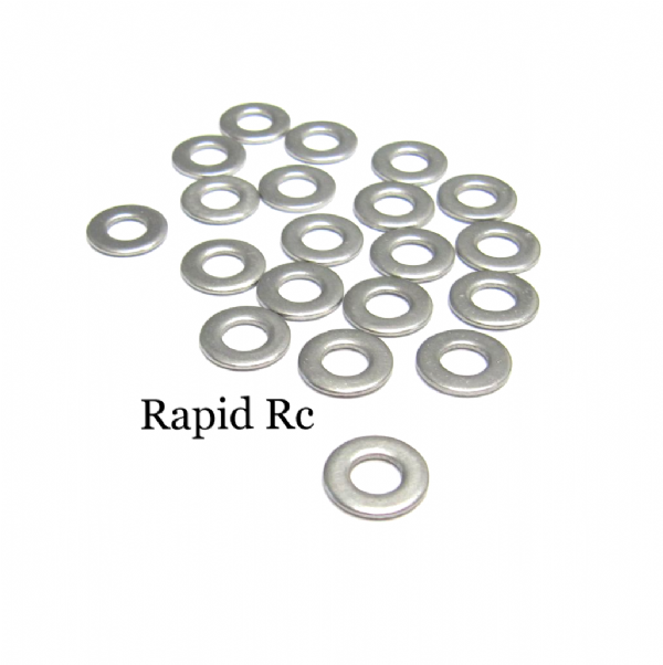 M3 Stainless Steel Flat Washer A2 3mm